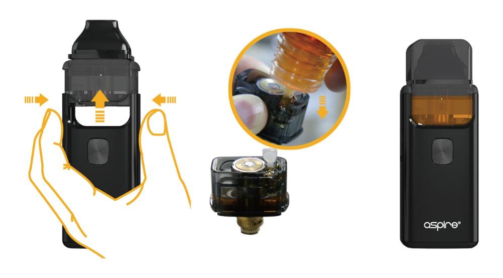 Aspire Breeze 2 AIO Kit Built-in 1000mAh Battery with 2ml/3ml Tank - Vape Kit - vapes, pens