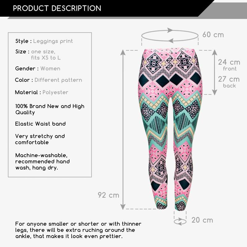 Weed Printed Tri Stripped Leggings - womens-apparel, leggings, google-feed, apparel