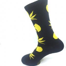 Wu Tang Socks w/ Hemp Leaf & Wu Tang Logo