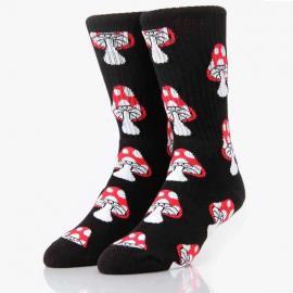 Retro Mushrooms Crew Socks