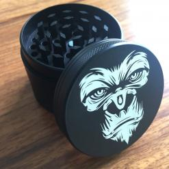 Alpha Male 4 Layer 50mm Herb Grinder with pollinator screen