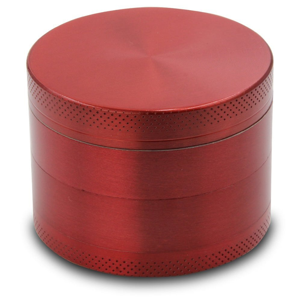 High Quality 4-layer Aluminum Herb Grinder with Stainless Steel Pollen Screen