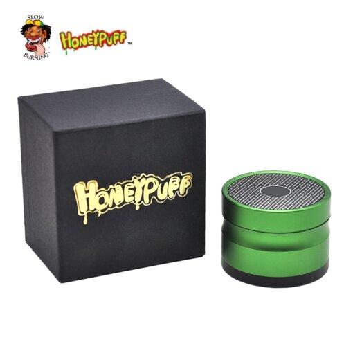 HoneyPuff 4 Layers Aluminum Herb Grinder 63mm