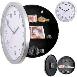 Large Secret Wall Clock Style Safe Storage Stash