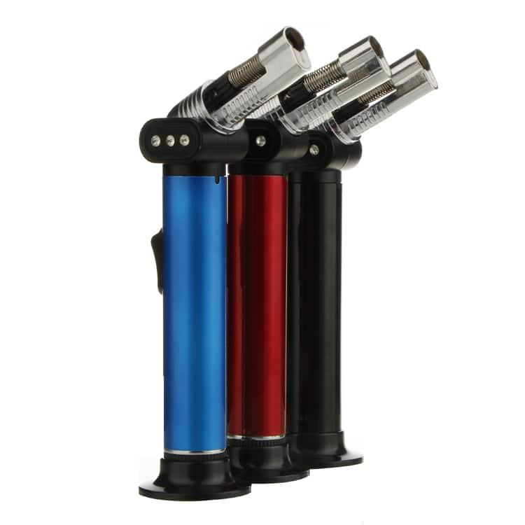 Refillable Butane Gas Torch Lighter