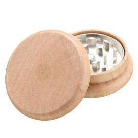 2 Layers Wooden Herb Grinder