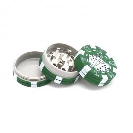 3 Layers Poker Chip Style Herb Grinders Smoking