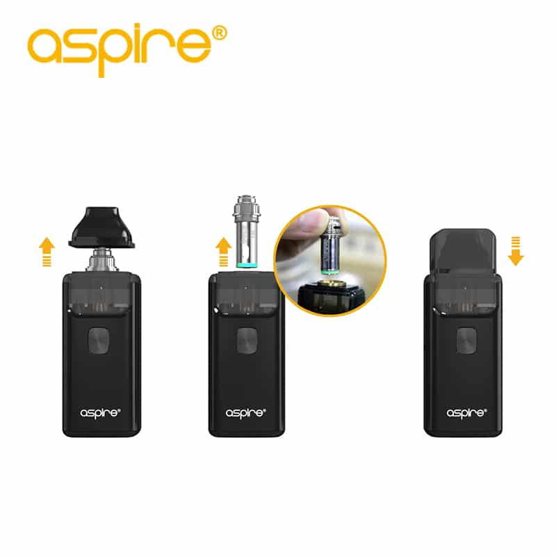Aspire Breeze 2 AIO Kit Built-in 1000mAh Battery with 2ml/3ml Tank – Vape Kit