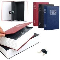 Creative Booksafe Lock Key Book Storage Safe