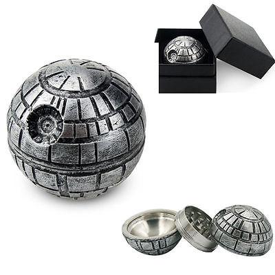 Star Wars Death Star 3 Layers Zinc Alloy Herb Grinder