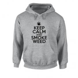 KEEP CALM AND SMOKE WEED Unisex Hoodie