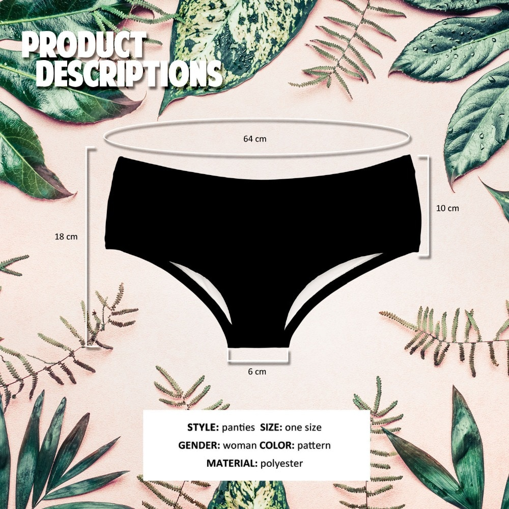 Want A Hit? Cannabis Panties – One Size