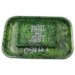 Roll That Shit Metal Rolling Tray HD Pattern