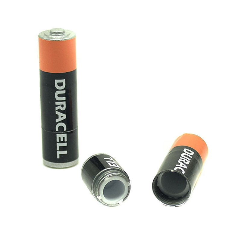 Secret Stash Battery Hidden Container Case