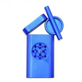 Honeypuff Dugout Case w/ Storage, Pipe, & Built-in Grinder