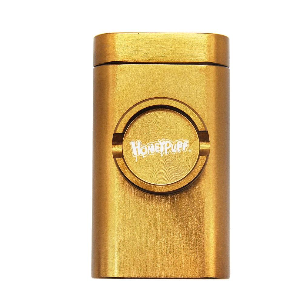 Honeypuff Dugout Case w/ Storage, Pipe, & Built-in Grinder 7