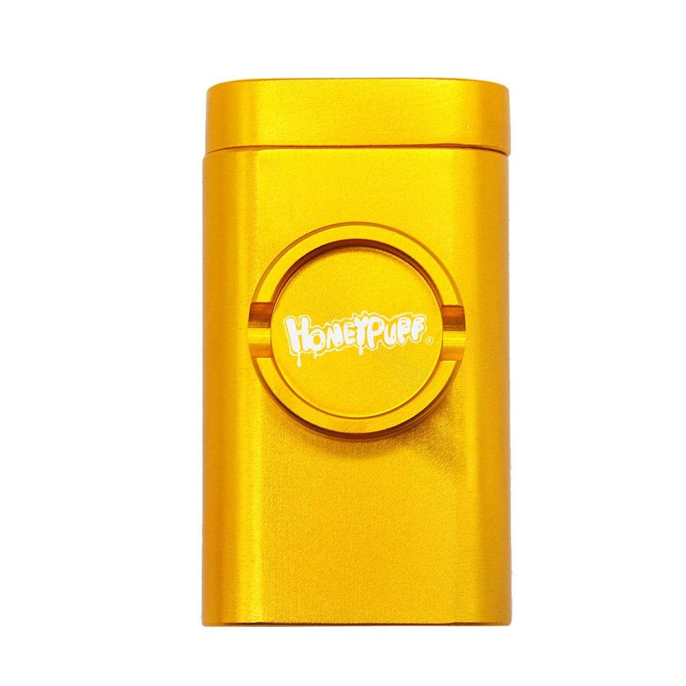 Honeypuff Dugout Case w/ Storage, Pipe, & Built-in Grinder 15