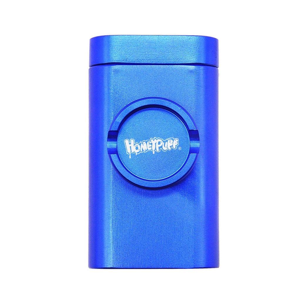 Honeypuff Dugout Case w/ Storage, Pipe, & Built-in Grinder 12