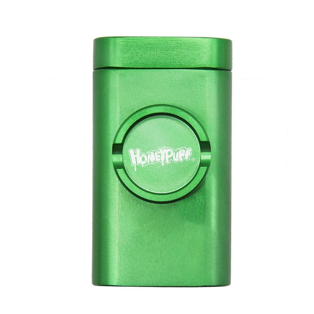 Honeypuff Dugout Case w/ Storage, Pipe, & Built-in Grinder 8