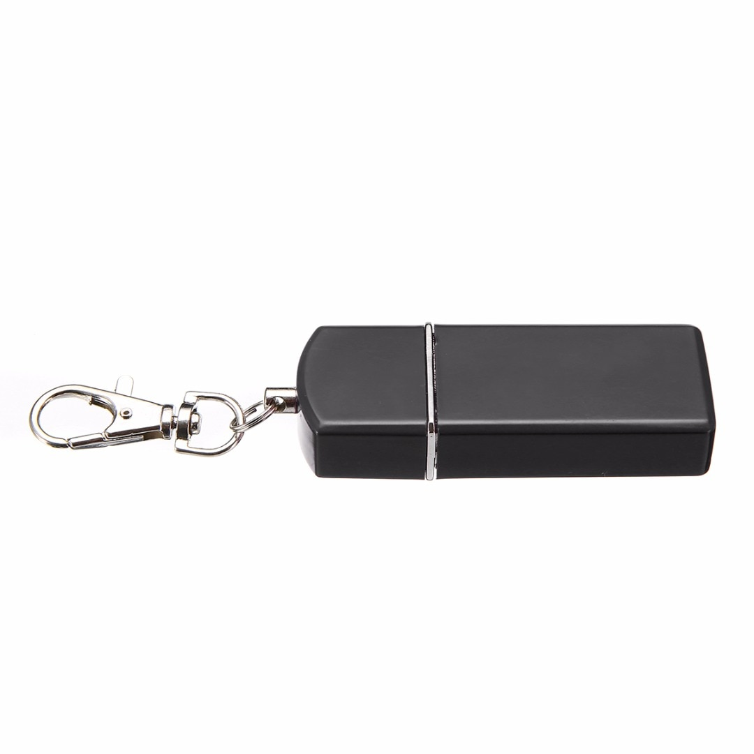 Metal Key Ring Storage Box Secret Stash Key Chain