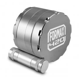 Formax420 62mm 4 Layer Aluminium Grinder with Pollen Presser