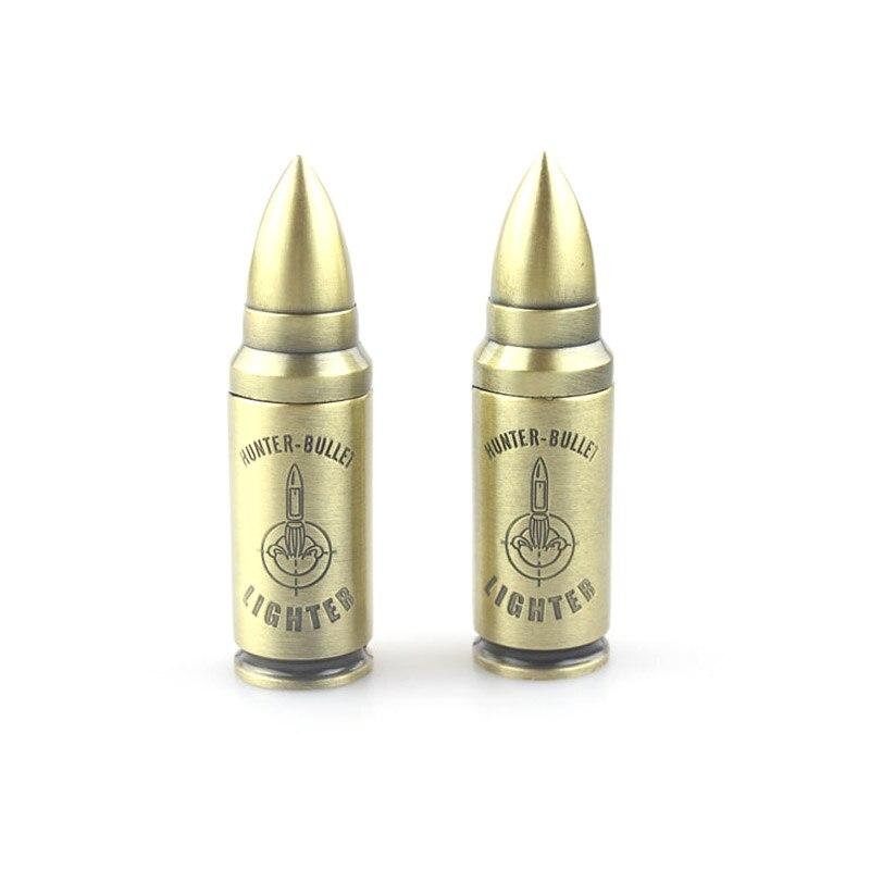 Compact Windproof Butane Torch Bullet Lighter