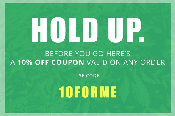 10% your first purchase from reeferboss.com