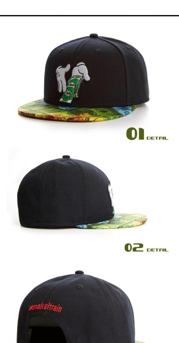 Micky Hands Rainmaker Snapback Hat - weed-hats-beanies, google-free