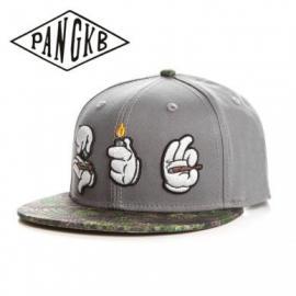 Mickey Hands Roll It, Light It, Smoke It Snapback Hat