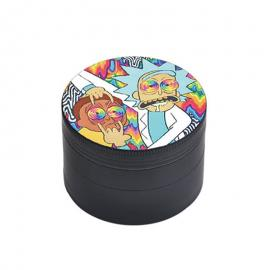 50mm 4 Layer Rick & Morty Grinder