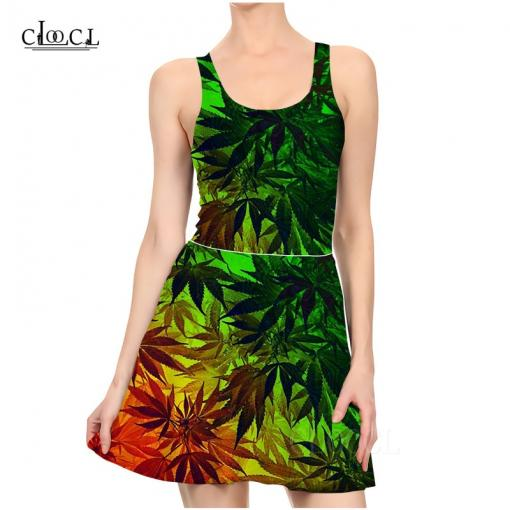 Hemp Life Rasta Style 2pc Weed Dress